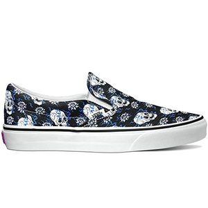 Vans Classic Slip-On Flash Skulls Sneakers